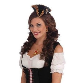 Forum Novelties Mini Buccaneer Beauty Hat w/Skull