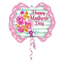 Anagram Happy Mother's Day Pink Marquee Balloon