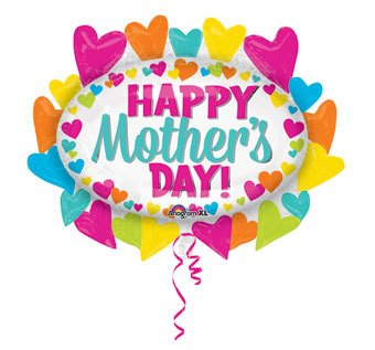 happy mother s day hearts marquee balloon ronjo magic costumes