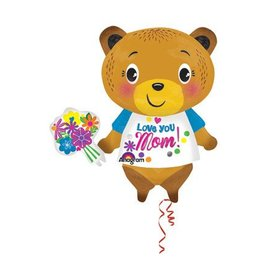 Anagram I Love You Mom Bear Balloon