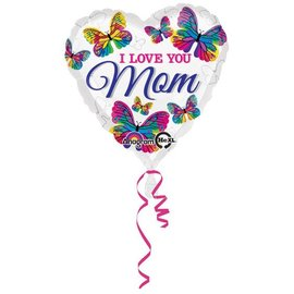 Anagram I Love You Mom Butterflies Balloon