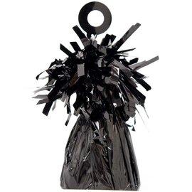 Balloon Weight, Black - Foil 150 gram (5.29 oz.)