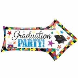 Anagram Graduation Party Arrow Balloon