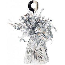 Balloon Weight, Silver - Foil 150 gram (5.29 oz.)