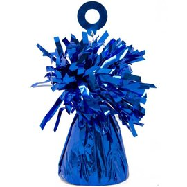 Balloon Weight, Blue - Foil 150 gram (5.29 oz.)