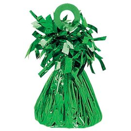 Balloon Weight, Green - Foil 150 gram (5.29 oz.)
