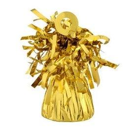 Balloon Weight, Gold - Foil 150 gram (5.29 oz.)