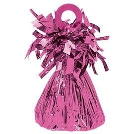 Balloon Weight, Bright Pink - Foil 150 gram (5.29 oz.)