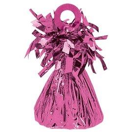 Balloon Weight, Bright Pink - Foil 150 gram (5.29 oz.)