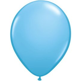 Qualatex 16 inch Round Balloons, Pale Blue - 50 ct