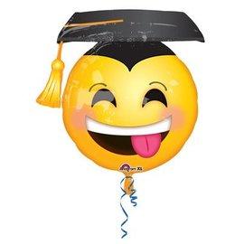 Anagram Grad Smiley Emoji Balloon
