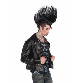 Forum Novelties Mohawk Wig - Black