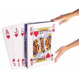 Forum Novelties Jumbo Sized Playing Cards 14 x 10 inch
