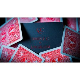 Expert Playing Card Company Triple C, Red - Gimmicks and Online Instructions by Christian Engblom