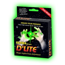 D'lite D'Lite Green Pair, Regular Size - Ultra Bright