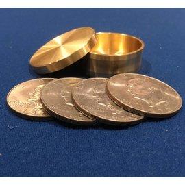 Ronjo Okito Box Silver Dollar 4 Coin, Beveled by Ronjo
