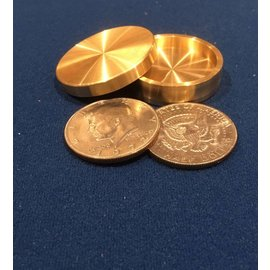 Ronjo Okito Box Half Dollar Sleek 2 Coin Beveled by Ronjo