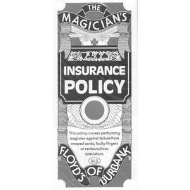 Ronjo Magician's Insurance Policy - 3 1/2 Clubs