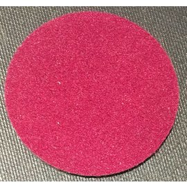 Ronjo Performance Mat Circle Close-Up, Burgundy 4.5 inch, Thick