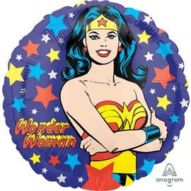 "Anagram Wonder Woman Balloon 17"""