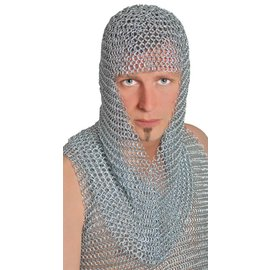 Morris Costumes Chainmail Hood - Long