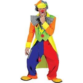 Funny Fashion Clown Olaf - Adult Large