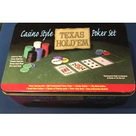 Camping World Casino Style Texas Hold'em Poker Set