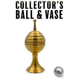 Magic Makers Collector's Ball And Vase, Brass by Magic Makers Inc.