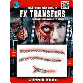 Tinsley Transfers Zip Face 3D FX Transfers