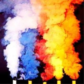 Theater Effects Smoke Cartridge Single Assorted Colors - 3 min