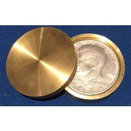 Ronjo Okito Box Double Boston Half Dollar Sleek 1 Coin by Gary Brown by Gary Brown