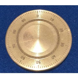 Ronjo Okito Box Lid Combination Dial, Half Dollar -  Laser Etched by Ronjo - Coin