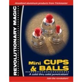 Trickmaster Magic Mini Cups and Balls - Anodized Aluminum