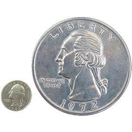 India Jumbo Coin, Quarter - 3 inch (M10)