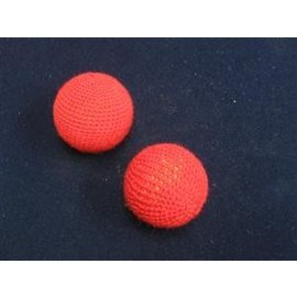 Funtime Magic Chop Cup Balls Set, Red -  1 inch by Funtime (M11)