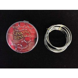 Close Up Linking Rings - Set of 8 by Sorcery Shop