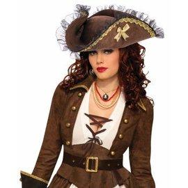 Forum Novelties Tricorner Pirate Hat
