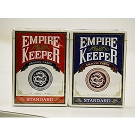 808 Magic Store Empire Keeper Dragon Playing Cards - Set Red/Blue