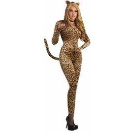 Forum Novelties Sly Leopard Bodysuit M/L 8-12