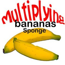 MAK Magic Multiplying Sponge Banana