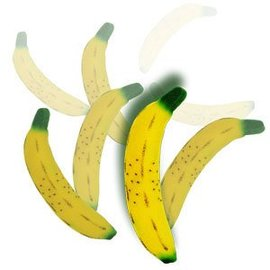 MAK Magic Multiplying Sponge Bananas, 4 pc. - Climax Set