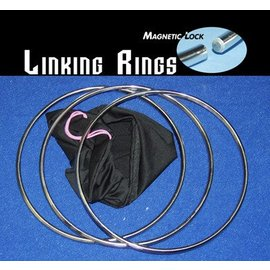 China Linking Rings 12 inch, 3 Set - Magnetic Lock