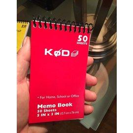 Phoenix Mentalist SvenPad® KøD Memo Pad, Single - Red by Brett Barry