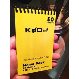 Phoenix Mentalist SvenPad® KøD Memo Pad, Single - Yellow by Brett Barry