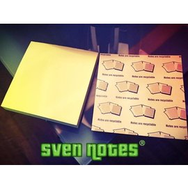 Phoenix Mentalist SvenPad® Sven Notes, Post-its Style - 3 Pack by Brett Barry