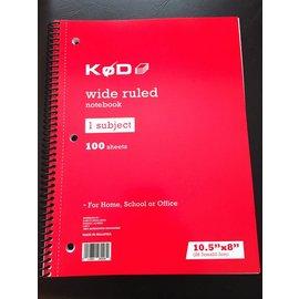 "Phoenix Mentalist SvenPad® KøD 8.5x11"" - Stage Size (Single) by Brett Barry"