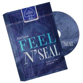 Peter Eggink Feel N' Seal Blue (DVD and Gimmick) by Peter Eggink - DVD (M10)