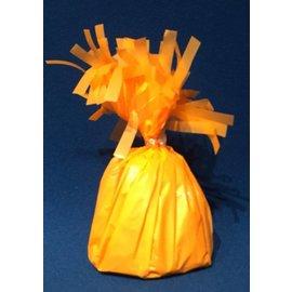 Forum Novelties Balloon Weight, Neon Orange- Fringed Foil 6.4 oz