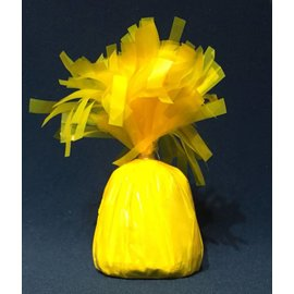 Forum Novelties Balloon Weight, Neon Yellow- Fringed Foil 6.4 oz