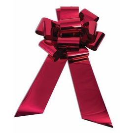 SKD Party by Forum 25 inch Car Bow, Holographic Red (/212)